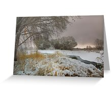 Winter Scene 1 Greeting Card
