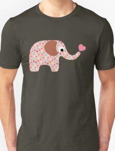 Elephant Seamless background Unisex T-Shirt