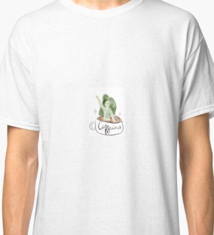 Caffeina - Goddess of Coffee Classic T-Shirt