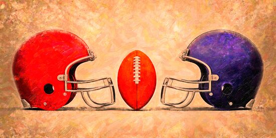 NFL American football by Adam Asar