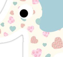 Elephant Seamless background Sticker