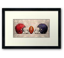 american football hdr Framed Print