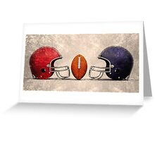 american football hdr Greeting Card