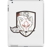 God Hound [Okami] without writing iPad Case/Skin