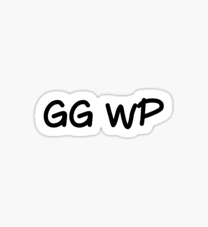 GG WP Sticker