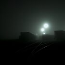 Places Far and Between - Train Yard by Shaun Whitworth