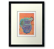 purple pitcher Framed Print
