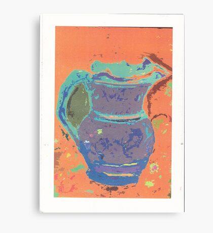 purple pitcher Canvas Print