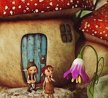 The Mushroom House by Liam Liberty