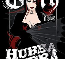Poster for Hubba Hubba Revue, March 2012 by caseycastille