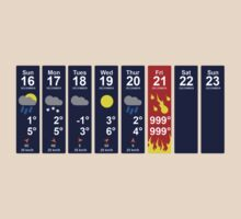 Apocalypse Weather Forecast by jezkemp