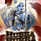 Poster for Hubba Hubba Revue, July 2012 by caseycastille