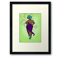 Aerodynamic - The Flirtatious Fat Lady Framed Print