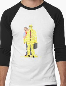 Minimalist movie poster: Office Space Men's Baseball ¾ T-Shirt