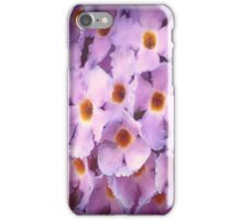 Pink And Yellow Flowers iPhone Case/Skin