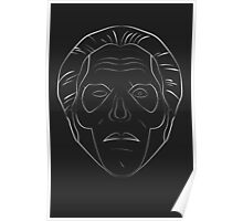 Ghost - Papa Emeritus III - Acoustic - lined Poster