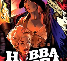 Poster for Hubba Hubba Revue, July 14 2012 by caseycastille