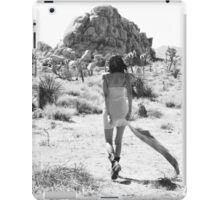 Girl In The Desert with Scarf iPad Case/Skin