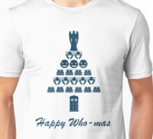 Happy Who-mas Unisex T-Shirt