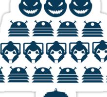 Happy Who-mas Sticker