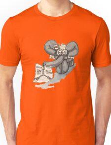 Doc Elephant Brown Unisex T-Shirt