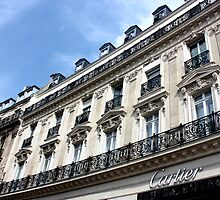 Cartier, Champs Elysées by Neroli Henderson