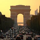 Champs Elysées - The most famous street in Paris by Neroli Henderson