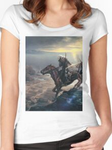 The last wish Women's Fitted Scoop T-Shirt