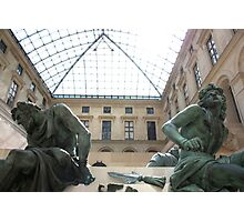 The Lourve - Sculptures Photographic Print