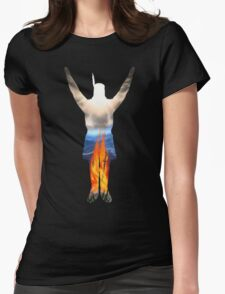 Incandescent! Womens Fitted T-Shirt