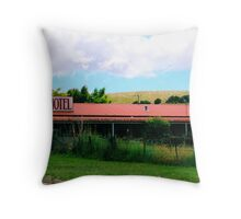 Roadside Motel Throw Pillow