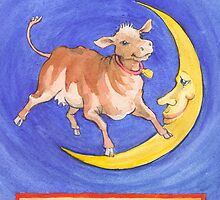 The Cow Jumped by Lora Serra