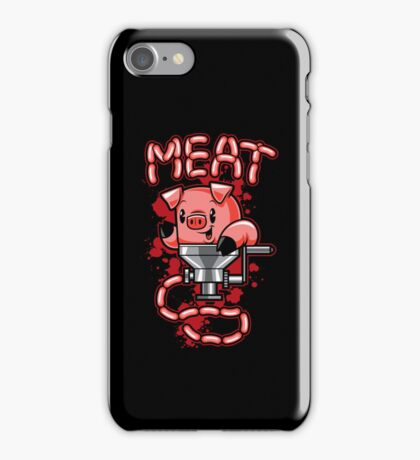 Nice to Meat You! iPhone Case/Skin