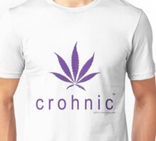 Crohnstrong Crohnic™ - Natural Cannabis Medicine Unisex T-Shirt