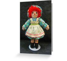 Ragdoll Annie Greeting Card