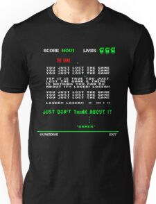 THE GAME is invading. Unisex T-Shirt