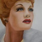 Lucille Ball (LUCY) by Sandy Clifton