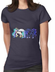 Princesses Womens Fitted T-Shirt