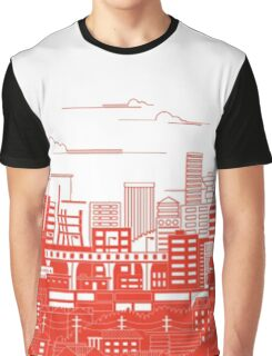 Japan Flag Graphic T-Shirt