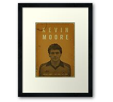 Kevin Moore - Newport County Framed Print