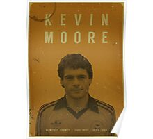 Kevin Moore - Newport County Poster