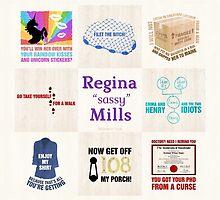 Regina Sassy Mills by CLMdesign