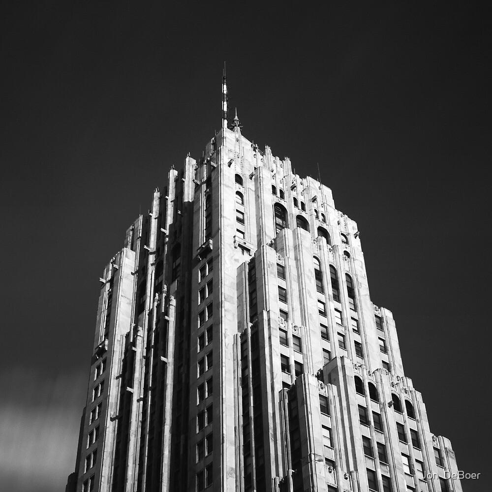 Fisher Building by Jon  DeBoer