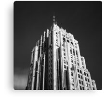 Fisher Building Canvas Print