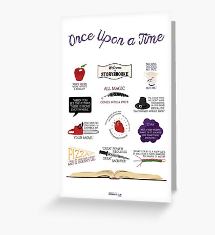 Once Upon a Time Quotes Greeting Card