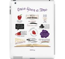 Once Upon a Time Quotes iPad Case/Skin