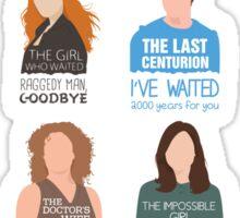 Doctor Who |Companions (alternate version) Sticker