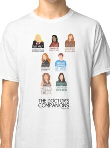 Doctor Who | Companions (alternate version) Classic T-Shirt