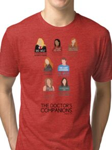 Doctor Who |Companions (alternate version) Tri-blend T-Shirt