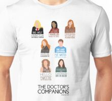 Doctor Who | Companions (alternate version) Unisex T-Shirt
